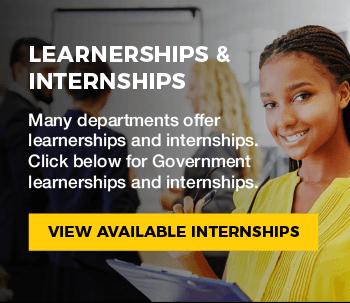 LEARNERSHIPS & INTERNSHIPS