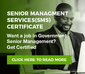 SENIOR MANAGMENT SERVICES(SMS) Certificate