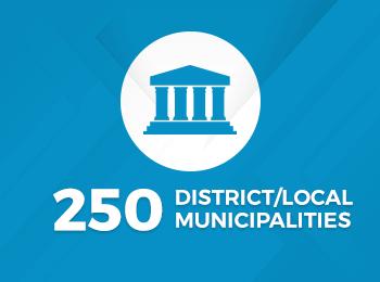 250 Municipalities