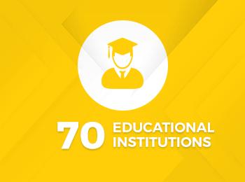 70 Educational Institutions